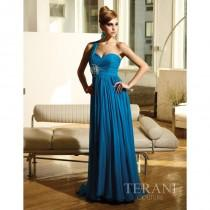 wedding photo - Terani Couture Evenings E1103 - Rosy Bridesmaid Dresses