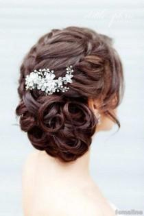 wedding photo - 221 Wedding Hairstyle For Medium Hair