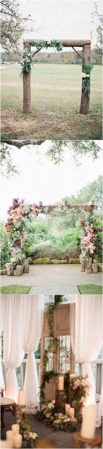 wedding photo - 28 Country Rustic Wedding Decoration Ideas With Tree Stumps - Page 4 Of 4