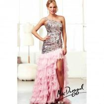 wedding photo - Mac Duggal Ruffle Mermaid Prom Dress 85125H - Crazy Sale Bridal Dresses