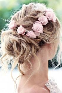 wedding photo - 30 Wedding Hairstyles For Thin Hair: 2017 Collection