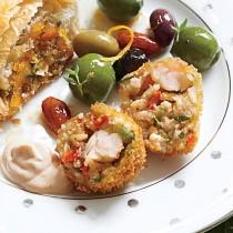 wedding photo - Gumbo Rice Fritters