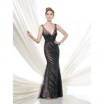 wedding photo - Black/Nude Ivonne D by Mon Cheri 115D79 - Brand Wedding Store Online