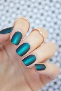 wedding photo - Mint Polish Czarina: The Perfect Emerald, 3 Ways