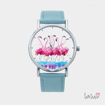 wedding photo - Watch With Graphic FLAMINGOS