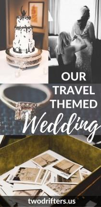 wedding photo - Our Travel Themed Wedding In Asheville, North Carolina