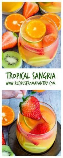 wedding photo - Tropical Sangria