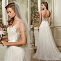 wedding photo - Elegant Tulle Skirt Wedding Gown Ideas