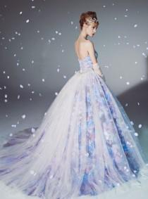 wedding photo - 19 Magical Wedding Gowns For The Winter Fairy Tale Bride!