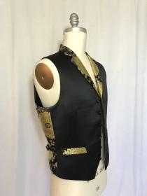 wedding photo - Vest Brocade for man for wadding or evening dress