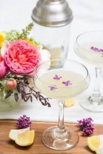 wedding photo - Lilac Pisco Cocktail