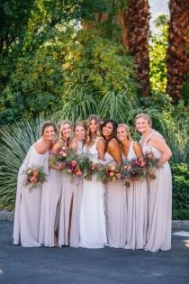 wedding photo - Romantic Modern Chic Avalon Palm Springs Wedding