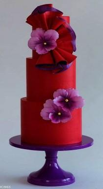 wedding photo - Color Combo. . .Purple And Red.