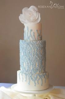 wedding photo - Artistic Wedding Cakes By Rebekah Naomi Cake Design
