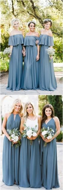 wedding photo - Top 6 Bridesmaid Dress Trends For 2018
