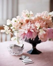 wedding photo - Creative Ways To Incorporate Black, White, And Pink Into Your Wedding Décor