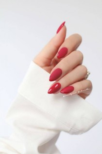 wedding photo - 50 Creative Red Acrylic Nail Designs To Inspire You