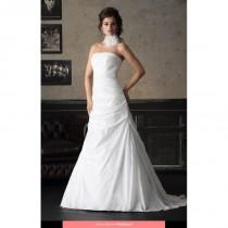 wedding photo - Brinkman - BR6054E 2014 Floor Length Straight A-line Sleeveless Short - Formal Bridesmaid Dresses 2018