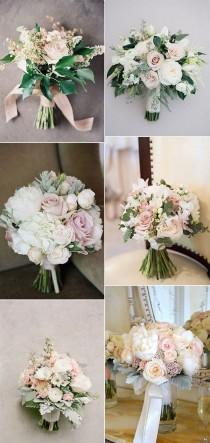 wedding photo - Top 15 Blush Pink Wedding Bouquets For Spring 2018