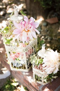 wedding photo - Beautiful Birdcages