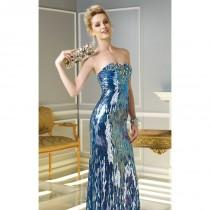 wedding photo - Sequined Silk Dresses by Alyce Claudine Collection 2308 - Bonny Evening Dresses Online
