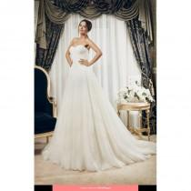 wedding photo - Daria Karlozi - 1429 Sutera 2014 Floor Length Sweetheart Classic Sleeveless Long - Formal Bridesmaid Dresses 2018