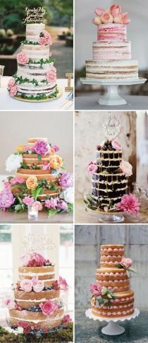 wedding photo - A One Fab Day Favourite - Naked Wedding Cakes