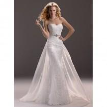 wedding photo - Maggie Sottero Spring 2013 - Style 3MS760DT Marianne Gown with Detachable Train - Elegant Wedding Dresses