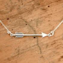 wedding photo - Arrow Necklace