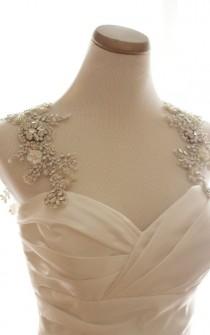 wedding photo - Bridal Straps. Statement Straps. Rhinestone Dress Straps. Statement Dress Straps. Bridal Statement Straps. Wedding Accessory