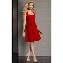wedding photo - Clarisse - M6261 Ruched Sweetheart Flare Dress - Designer Party Dress & Formal Gown