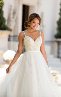 wedding photo - Backless Ballgown Wedding Dress