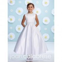 wedding photo - Joan Calabrese for Mon Cheri 116374 Flower Girls Satin Dress - Brand Prom Dresses