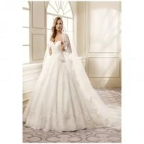 wedding photo - Eddy K EK1059 - Ball Gown Sweetheart Natural Floor Semi-Cathedral Tulle Lace - Formal Bridesmaid Dresses 2018