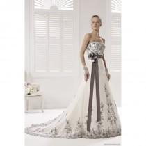 wedding photo - Colet COAB13472IVGY Colet 2017 Wedding Dresses - Rosy Bridesmaid Dresses