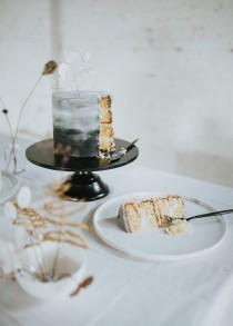 wedding photo - Minimalistic & Edgy Gay Wedding Styled Shoot