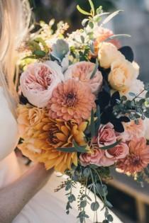 wedding photo - 70 Herbstblumen Als Dekorative Blumenarrangements