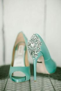 wedding photo - Aqua / Turquoise / Duck Egg