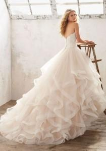 wedding photo - Breathtaking Disney Princess Wedding Dress To Fullfill Your Wedding Fantasy (17
