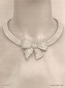 wedding photo - 1932: Coco's First High Jewelry Collection Reimagined By Chanel 80 Years Later