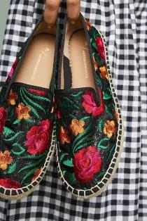 wedding photo - Floral Espadrilles