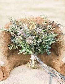 wedding photo - Wildflower Bouquets For Every Type Of Wedding