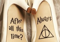 wedding photo - Umpteen Harry Potter Wedding Ideas