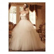 wedding photo - Casablanca Bridal 2103 Strapless Satin & Tulle Ball Gown Wedding Dress - Crazy Sale Bridal Dresses