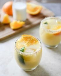 wedding photo - Coconut Creamsicle Margaritas