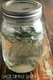 wedding photo - Sage Simple Syrup
