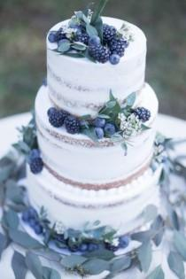 wedding photo - Dusty Blue Winter Wedding Inspiration