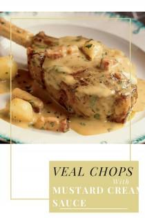 wedding photo - Veal Chops With Mustard Recipe