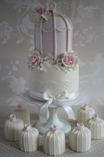 wedding photo - Food: Fancy Cakes And Cupcakes...Yum