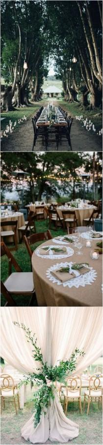 wedding photo - 40 Boho Chic Outdoor Wedding Ideas - Page 2 Of 2